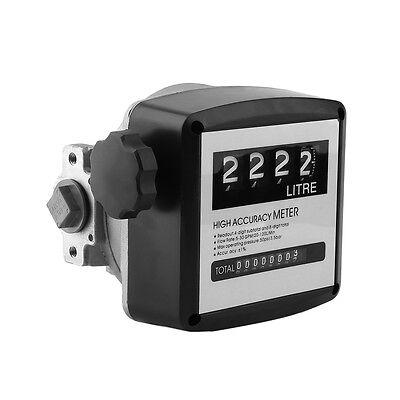new fuel oil diesel flow meter gauge counter 3 5 bar high. Black Bedroom Furniture Sets. Home Design Ideas