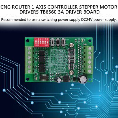 Cnc Router 1 Axis Controller Stepper Motor Drivers Tb6560 3a Driver Board Gd