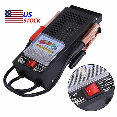 TOP Battery Load Tester 100 Amp Load Type 6V & 12V Mechanics 6 12 Volt Car Truck