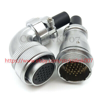 26pin Power Connectorws28 High Voltage Industrial Connector Led Power Plug 400v