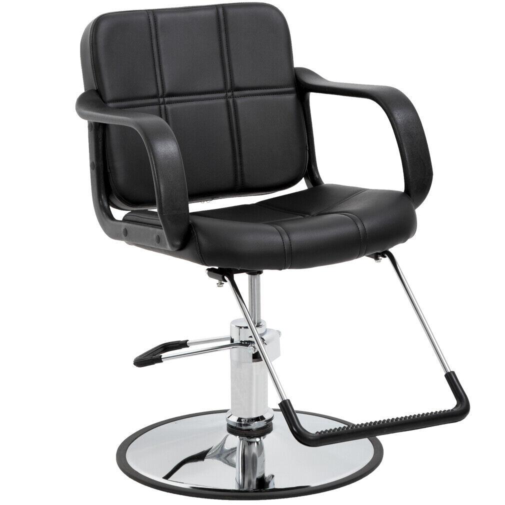 BestSalon Black Classic Hydraulic Barber Chair Salon Spa Beauty Equipment 5W Health & Beauty