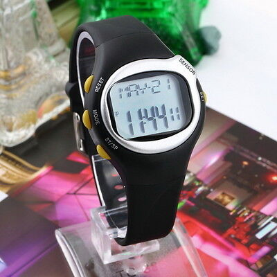 Pulse Heart Rate Monitor Wrist Watch Calories Counter Sports Fitness Exercise B2