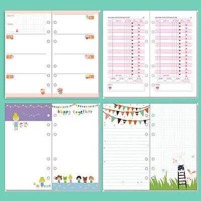 A5a6 Colourful Monthweekto Do Planner Diary Insert Refill Schedule Organiser