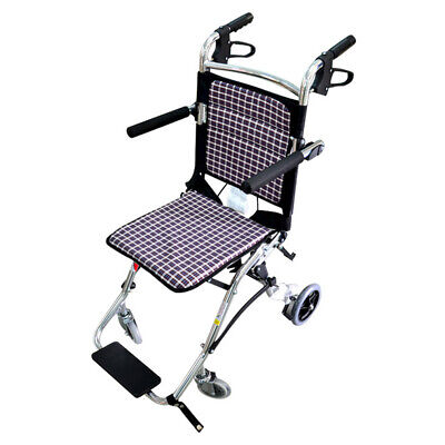 yuwell Portable Folding Travel Ultra Lightweight Transport Wheelchair,Only 15lbs, used for sale  USA