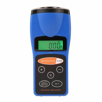 Ultrasonic Distance Measurer Laser Point