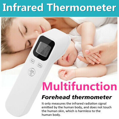 Infrared Digital Baby Adult Forehead Thermometer Touchless Temperature Gun Us