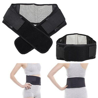 Infrared Magnetic Back Brace Posture Belt Lumbar Support Lower Pain Massager C2