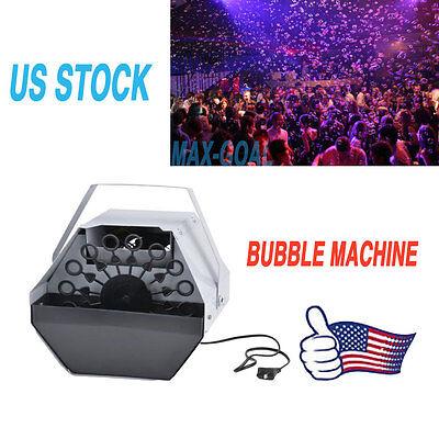 16 Wand Bubble Machine Automatic Blower Automatic Maker Kids Party Dj Disco Pub