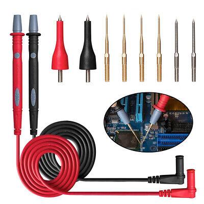 8 In 1 Multimeter Test Lead Kit For Fluke Meter Electrical Alligator Clip Probe