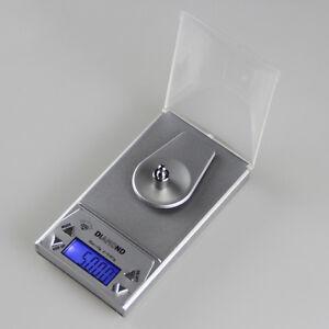 10/20/50G 0.001g LCD Digital Jewelry Scale Lab Gold Herb Balance Weight Gram CK