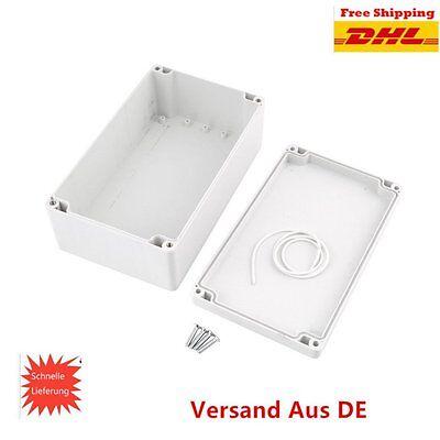 ABS Kunststoff Gehäuse Box Platinen Verteilerkasten Elektronik Netzteil MontageQ