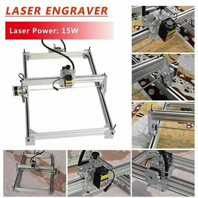 Mini Laser Engraving Machine 100X100CM DIY Cutter DC 12V Marking Wood