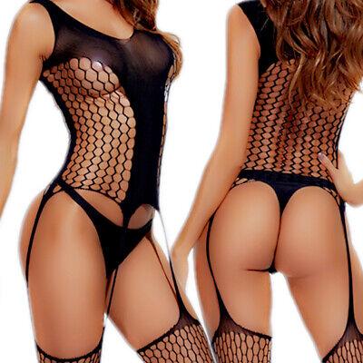 Bodystocking Bodysuit Nightwear Stocking Lingerie Sleepwear Robe Thigh-highs HOT ()