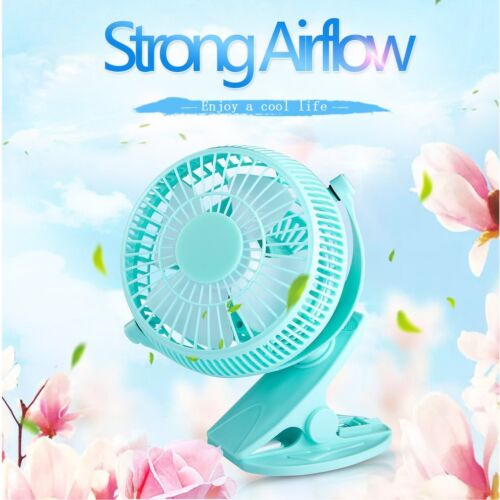 5 inch Portable with Clip USB Desktop Fan for Home Office Ba
