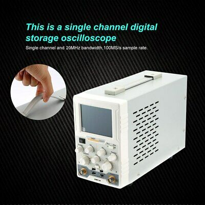 Owon As201 Oscilloscope 1 Channel 20mhz 100mss 130.000 Wfmss 37 Colour Lcd