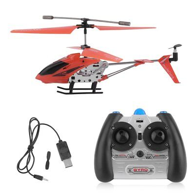 Cheerwing S107G Phantom 3.5CH Mini Metal Remote Control RC Helicopter GYRO RED