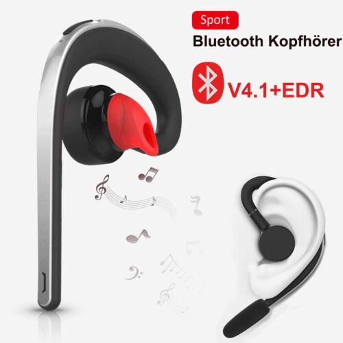 Bluetooth Headset V4.1 EDR Stereo Kopfhörer Kabellos Ohrhörer mit Mikrofon Handy