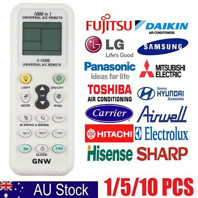 New Universal LCD A/C Control Remote Controller LCD Screen For Air Conditioner R