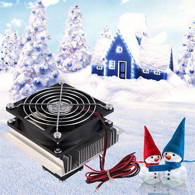12v 6a Thermoelectric Peltier Refrigeration Cooling System Kit Cooler Fan Diy Sp