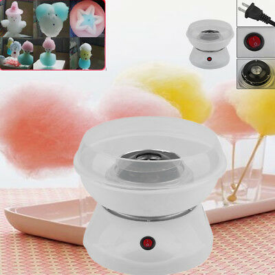 New Electric Cotton Candy Machine White Floss Carnival Commercial Maker Party Bt