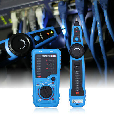 Rj45 Rj11 Finder Network Lan Ethernet Telephone Cable Tester Wire Tracker New