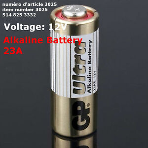 GP 23AE GP 23A MN21 A23 V23GA VR22 Alkaline Battery Batteries 12