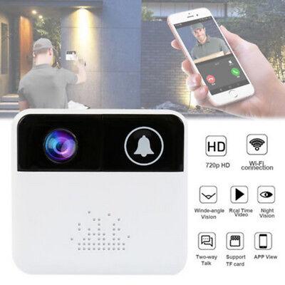 Video Security Door (Smart WIFI Security Doorbell Wireless Video Door Phone Camera Night)