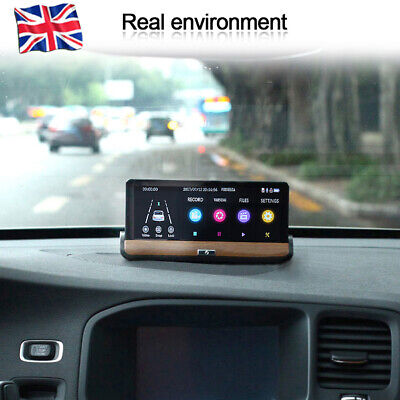 "NEW 4G Video Camera HD 1080P Car 7""DVR Dash Cam Night Vision Driving Recorder UK"
