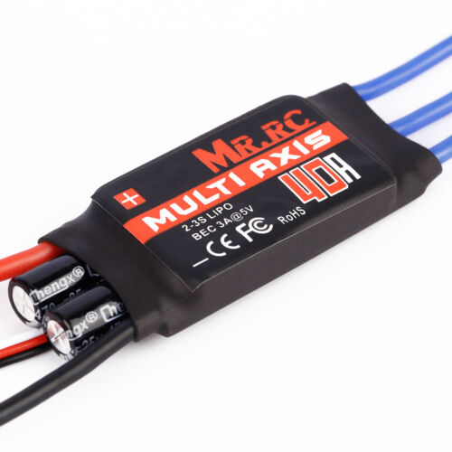 MR.RC 40A Brushless ESC Speed Controller For F450/F550 Multirotor Aircraft New