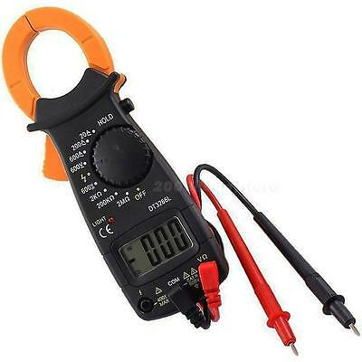 Multimeter Electronic Digital Clamp Ac Dc Voltage Amp Ohm Tester Meter Tool Usa