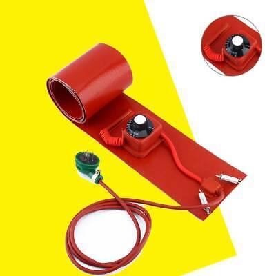 55gallon 1000w 220v Silicone Band Drum Heater Oil Biodiesel Metal Barrel New Bt