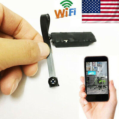 Wifi IP Wireless DIY Module HD Spy Hidden Nanny Recorder Remote Camera Mini DVR~