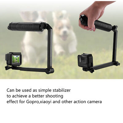 3-Way Grip Bracket Multi-fonction Floating Hand Grip for GoPro Hero 6 5 XiaomiYi