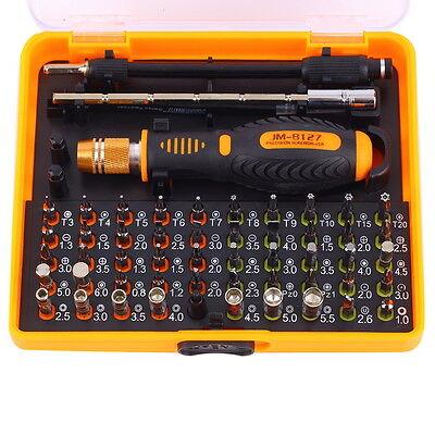 53 In 1 Jm 8127 Screwdriver Set Repair Kit Opening Tools For Cellphone Computer
