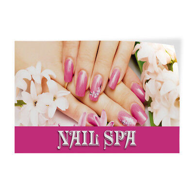 Nail Spa 1 Indoor Store Sign Vinyl Decal Sticker