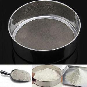 Stainless-Steel-Mesh-Flour-Sifting-Sifter-Sieve-Strainer-Cake-Baking-Kitchen-DG