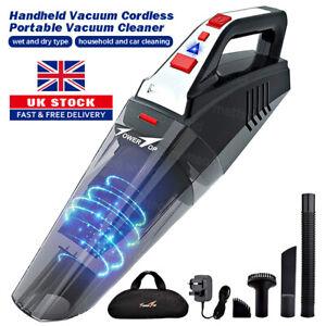 5.5Kpa Cordless Portable Handheld Vacuum Hand Vacuum Wet Dry Car Auto Home Clean