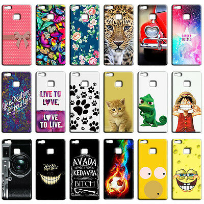 CUSTODIA COVER CASE MORBIDA IN SILICONE TPU PER HUAWEI ASCEND P9 LITE FANTASIE E