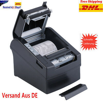 80mm Wireless Thermodrucker POS Bondrucker Kassendrucker Drucker AUTO-CUT @