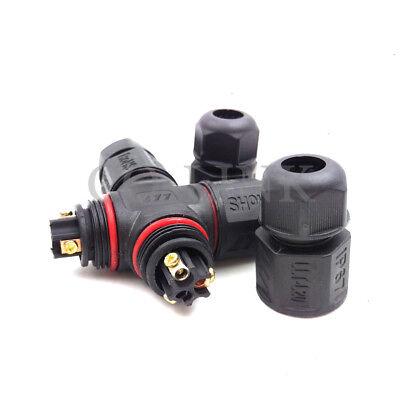 Llt-l203-pin Waterproof Connector Ip67 Solder Free High Voltage Power Connector
