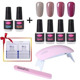 New Starter Nail Art Tool Kit with varnish