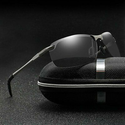 Herren Polarized Sonnenbrille Classic Driving Photochromic Sonnenbrillen JQL