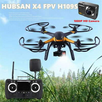 Hubsan H109S X4 5.8G FPV Quadcopter 1080P Headless Waypoint GPS RTH RTF+Battery