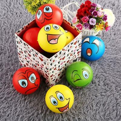 12PCS Facial Expression Stress Relief Sponge Foam Balls Hand Squeeze Toy - Stress Relief Balls