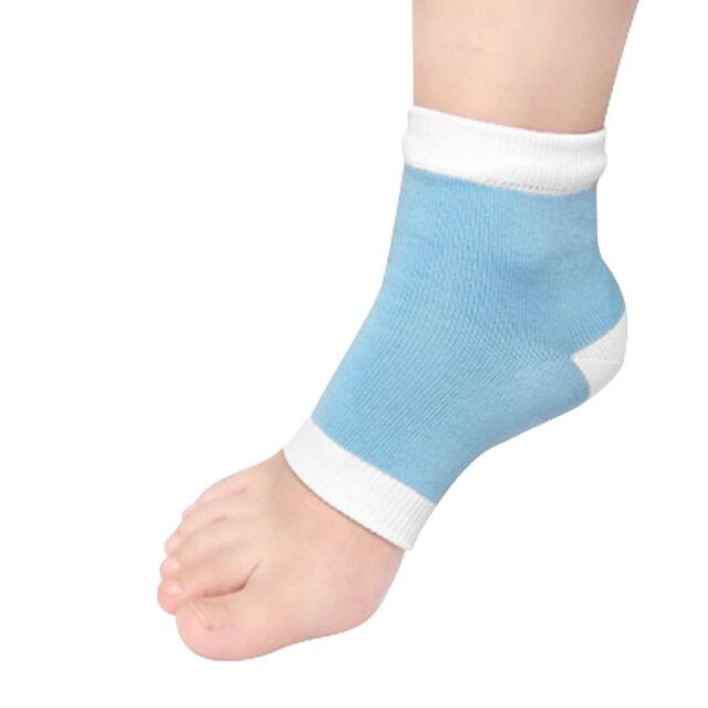 1Pair Footful Moisturising Gel Heel Socks Cracked Foot Dry Hard Skin Protector K