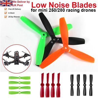 4 x Propellers Replacement Blade Props 50MM 3/2-Blade for 250/280 Race Drone UT