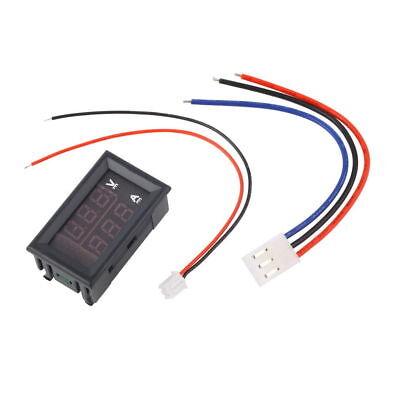 Dc 100v 10a Voltmeter Ammeter Blue Red Led Dual Digital Volt Amp Meter Ln