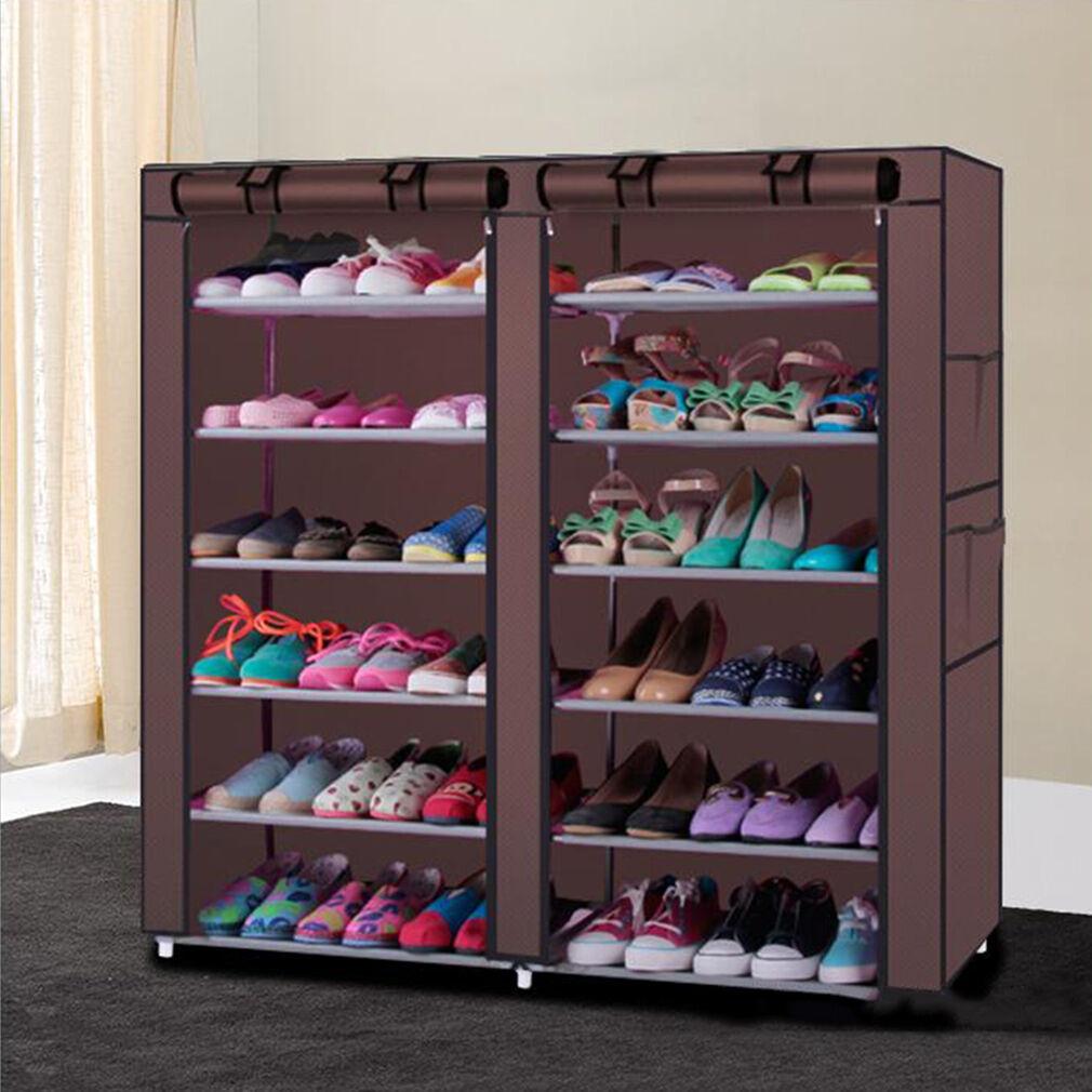 full of storage wardrobe organizer shoe organization for the size formidable home closet rack shelf racks depot design and photos rotating