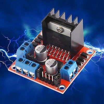 Dual H Bridge Dc Stepper Motor Drive Controller Board Module Arduino L298n 236