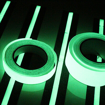 3M/10M Luminous Tape Self-adhesive Glow In The Dark Safety Stage Home Decorating